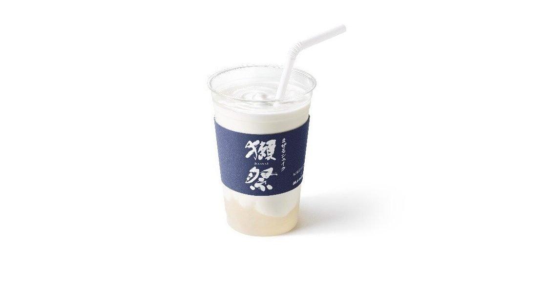 Fancy a Dassai sake milkshake? Get one at Japan's MOS Burger