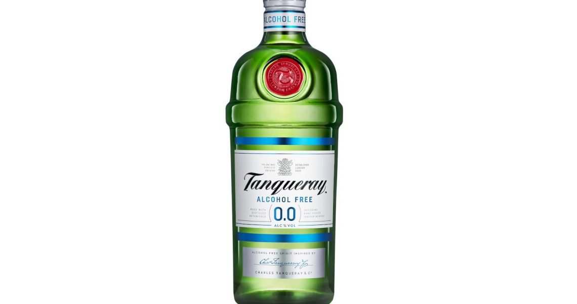 Tanqueray releases zero alcohol version of its gin