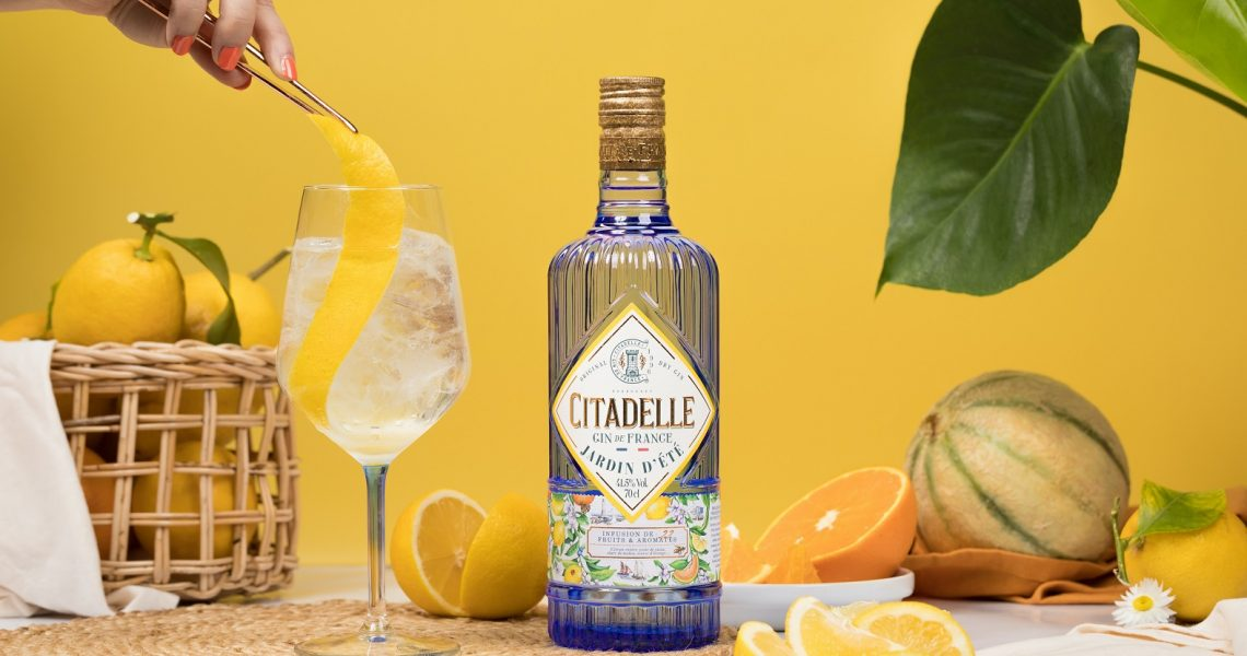 Citadelle launches new summertime gin as part of its core range