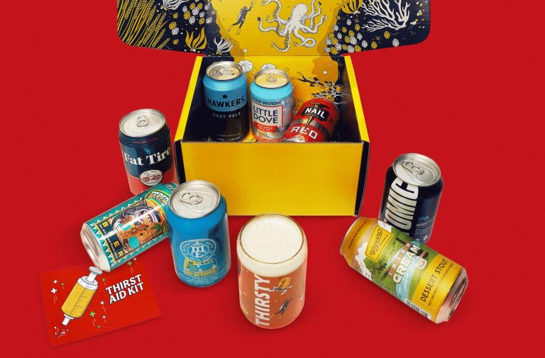 Thirsty Thirst Aid Kit Stay-Home Gift Box